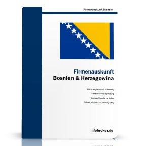 Firmenauskunft Bosnien und Herzegowina
