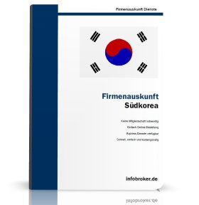 Firmenauskunft Südkorea