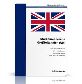 Markenrecherche Großbritannien UK