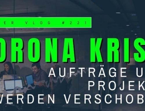 Die Corona-Krise sorgt für Projektverschiebungen – infobroker vlog #221