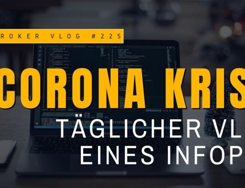 Corona-Krise – Täglicher Vlog berichtet aus der Sicht eines Information Professionals