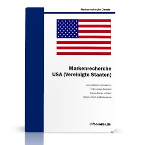 Markenrecherche USA - Vereinigte Staaten von Amerika